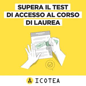 SUPERA TEST ACCESSO LAUREA