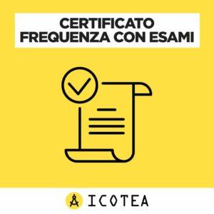 Certificato Frequenza con Esami