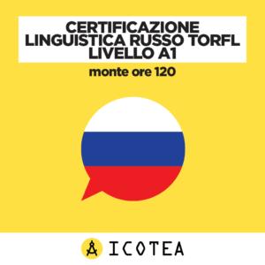 Certificazione Linguistica Russo TORFL Livello A1 - monte ore 120