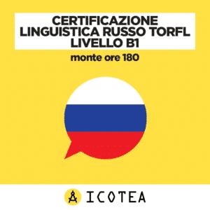 Certificazione Linguistica Russo TORFL Livello B1 - monte ore 180