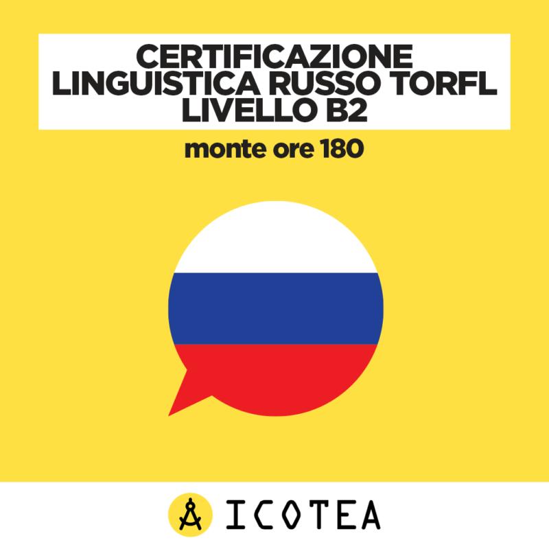 Certificazione Linguistica Russo TORFL Livello B2 - monte ore 180