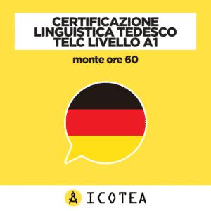 Certificazione Linguistica Tedesco TELC Livello A1 - monte ore 60