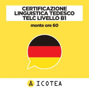 Certificazione Linguistica Tedesco TELC Livello B1 monte ore 60