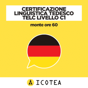 Certificazione Linguistica Tedesco TELC Livello C1 monte ore 60