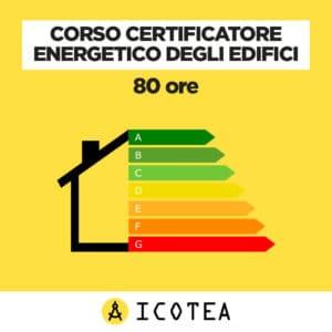 Corso Certificatore Energetico degli Edifici 80 ore