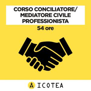 Corso Conciliatore Mediatore Civile Professionista 54 ore