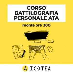 Corso Dattilografia personale ATA monte ore 300