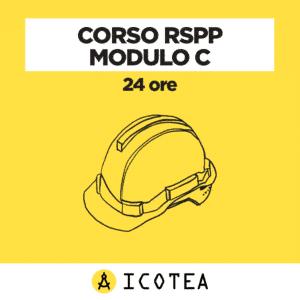 Corso RSPP modulo C 24 ore