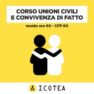 corso unioni civili e convivenza di fatto - ICOTEA