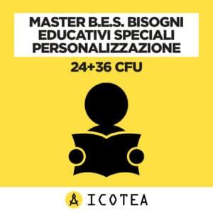 Master B.E.S. Bisogni Educativi Speciali Personalizzazione 24+36 CFU