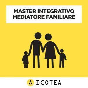 Master Integrativo Mediatore Familiare