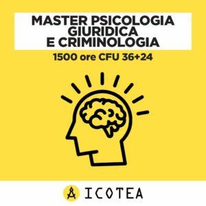 Master Psicologia Giuridica e Criminologia