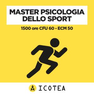 Master Psicologia dello Sport 1500 ore CFU 60 - ECM 50