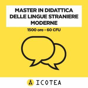 Master in Didattica delle Lingue Straniere Moderne 1500 ore - 60 CFU