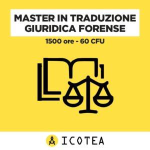 Master in Traduzione Giuridica Forense