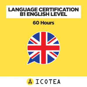 Language Certification B1 English Level - 60 Hours