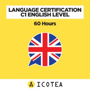 Language Certification C1 English level - 60 hours