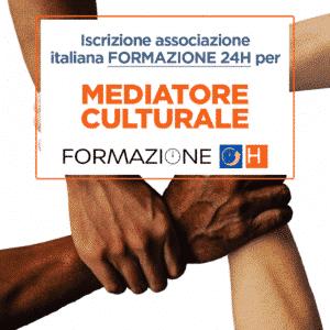 mediatore culturale formazione 24h
