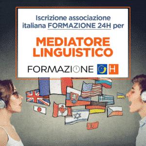 iscrizione associazione formazione 24h per mediatori linguistici