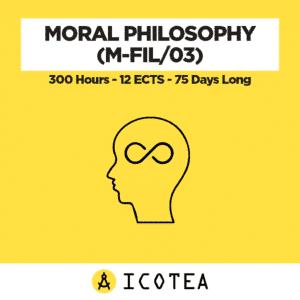Filosofia Morale (M-FIL 03) - monte ore 300 - CFU 12 - Durata 75 giorni