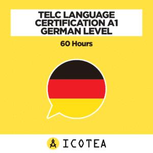 TELC Language Certification A1 German Level - 60 hours
