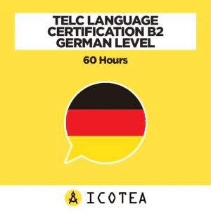 TELC Language Certification B2 German Level - 60 hours