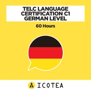 TELC Language Certification C1 German Level - 60 hours