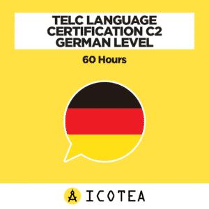 TELC Language Certification C2 German Level - 60 hours