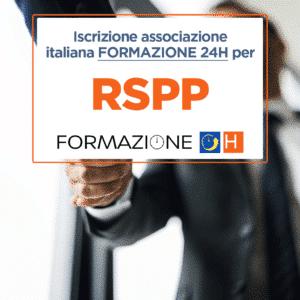 rspp (Responsabile Servizio Prevenzione e Protezione)