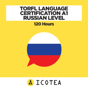 TORFL Language Certification A1 Russian Level - 120 Hours
