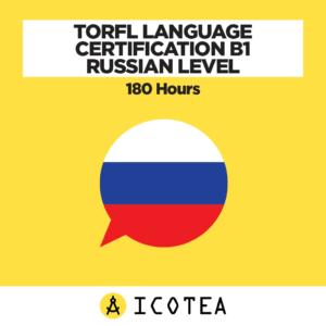 TORFL Language Certification B1 Russian Level - 180 Hours