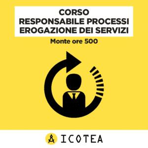 Corso Responsabile Processi Erogazione dei Servizi