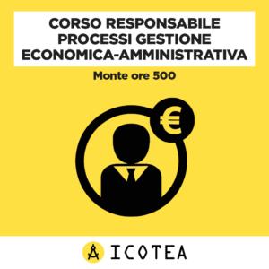 Corso Responsabile Processi Gestione Economica-Amministrativa
