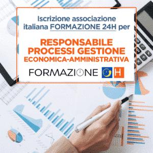 Responsabile Processi Gestione Economica-Amministrativa